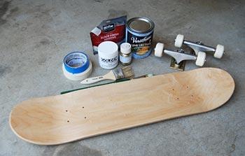 Ремонт скейтборда